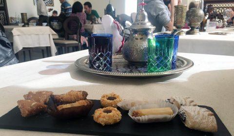 Dulces típicos marroquíes